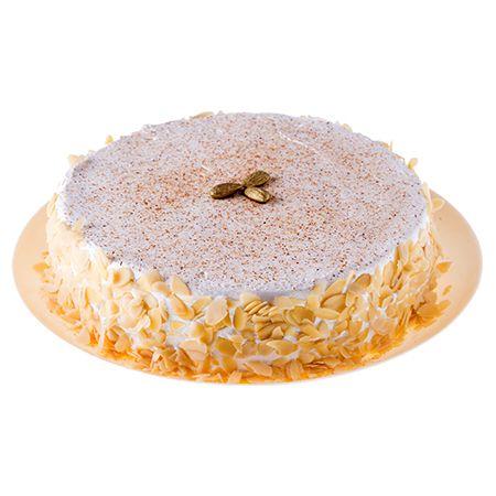 Torta de Amêndoas Filetadas