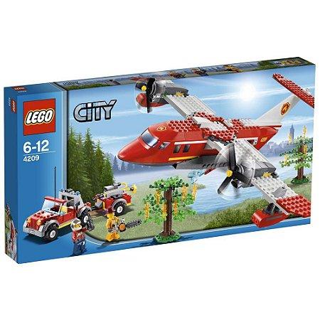 Lego City Avião De Combate Ao Fogo Fire Plane 363 PCS 60217