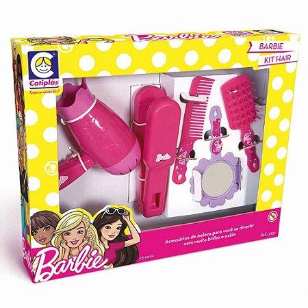 611dc918f1 Barbie kit Hair Acessórios de Beleza Da Cotiplás 2231 - Magazine ...