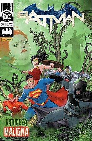 HQ Universo DC Batman 22 Natureza Maligna Panini Comics