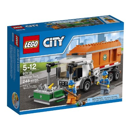 Lego City Caminhão De Lixo 90 Peças 60220