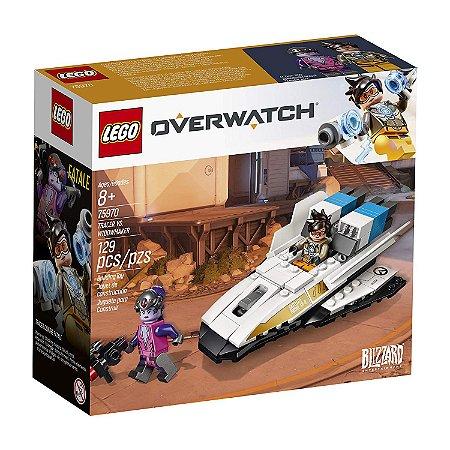 Lego Overwatch Tracer vs Widowmaker 75970 129 pcs