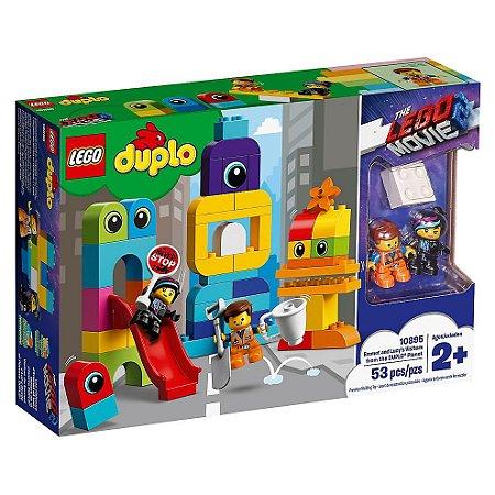 Lego Duplo The Lego Movie 2 Visitante do Planeta DUPLO 10895