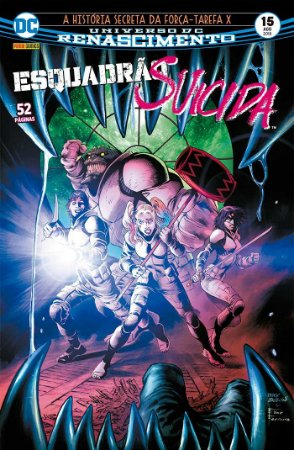 HQ Esquadrao Suicida Renascimento 15 Historia Secreta X DC