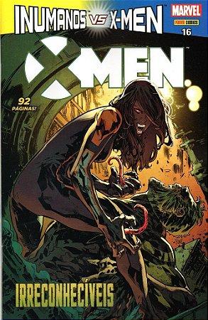 HQ X Men vs Inumanos Irreconheciveis 16 Marvel Panini Comics