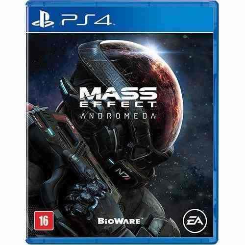Jogo Mídia Física Mass Effect Andromeda Original Play Ps4