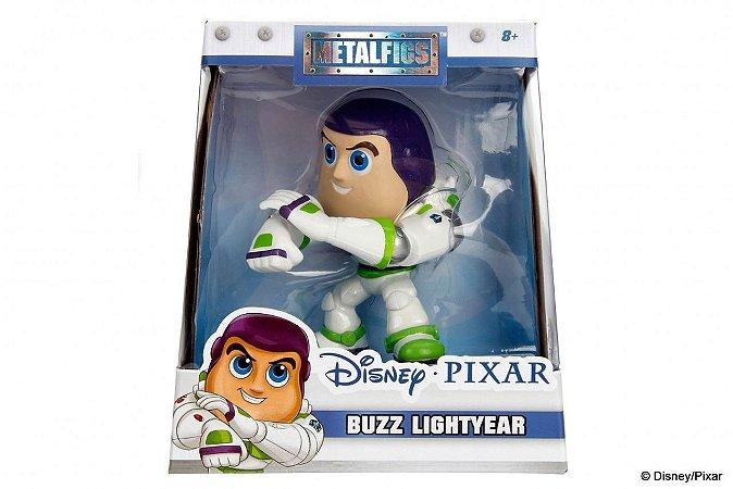 Matalfigs Disney Buzz Lightyar Miniatura Jada Metal 4557