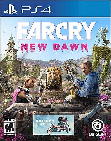 Jogo Midia Fisica Far Cry New Dawn Lacrado Ubisoft para Ps4