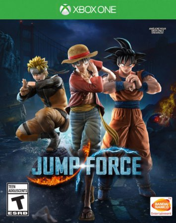 Jogo Novo Jump Force Bandai Namco Para Xbox One