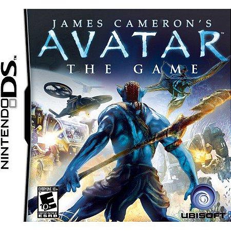 Jogo Pra Nintendo Ds Avatar The Game James Cameron`s Lacrado