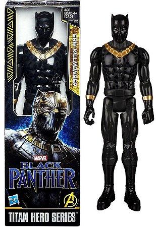 Boneco Erik Killmonger Titan Hero Series Hasbro E1363 E0869