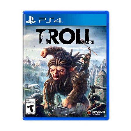 Jogo Midia Fisica Lacrado Troll And I Playstation Ps4