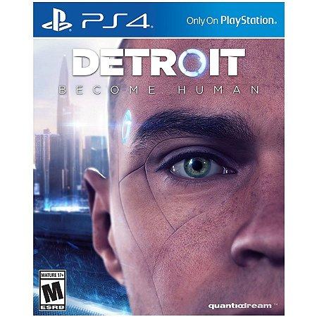 Jogo Novo Original Mídia Física Detroit Become Human De Ps4