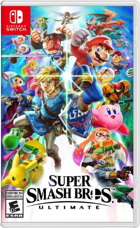 Jogo Mídia Física Super Smash Bros Ultimate Nintendo Switch