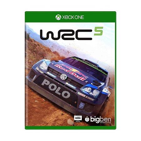 Jogo Novo Midia Fisica Wrc 5 Lacrado para Xbox One Microsoft