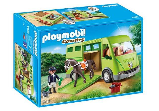 Brinquedo Playmobil Country Caminhão Para Transportes 6928