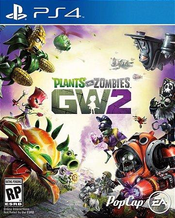 Jogo Midia Fisica Plants Vs Zombies Garden Warfare 2 p/ Ps4