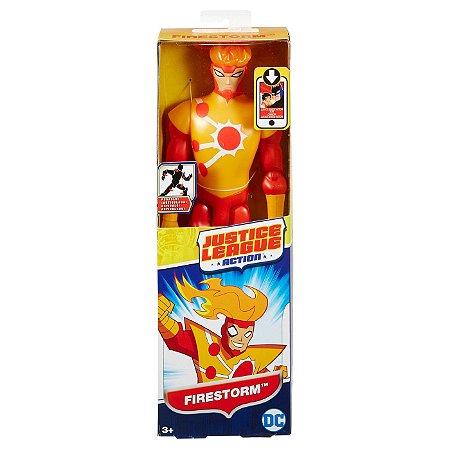 Boneco Liga da Justiça Action Firestorm Nuclear 30 cm Mattel