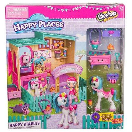 Novo Brinquedo Shopkins Happy Places Estábulo Feliz 4957
