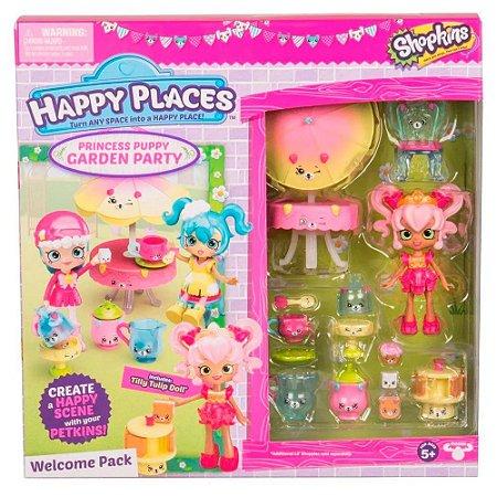 Shopkins Dtc Happy Places kit Boas vindas Festa no Jardim