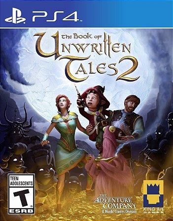 Jogo Novo Lacrado The Book Of Unwritten Tales 2 Ps4