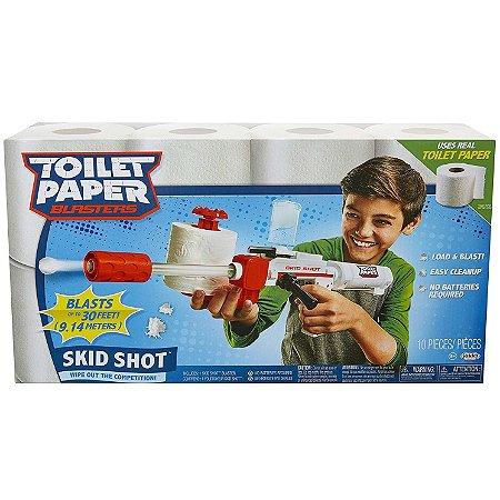 Lançador De Papel Higiênico Toilet Paper Blaster Candide