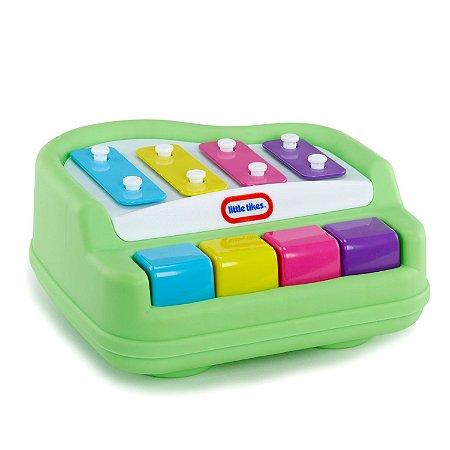 Piano Infantil Tap a Tune Little Tikes Verde Candide 9910