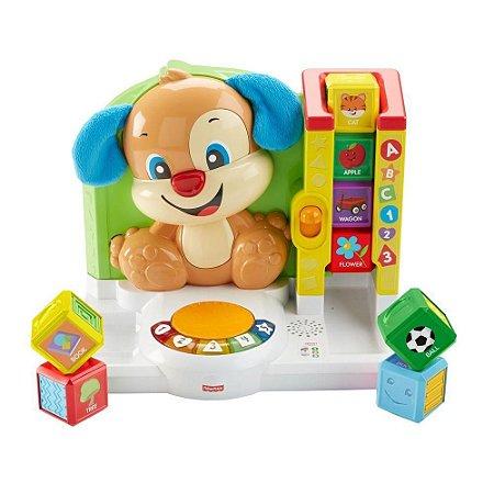 Brinquedo Primeiras Palavras Cachorrinho Fisher Price FJB47