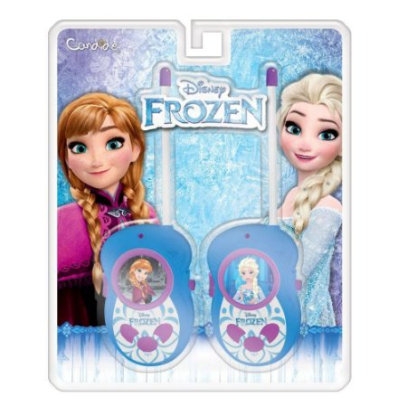 Novo Walkie Talkie Frozen Disney da Candide 8301