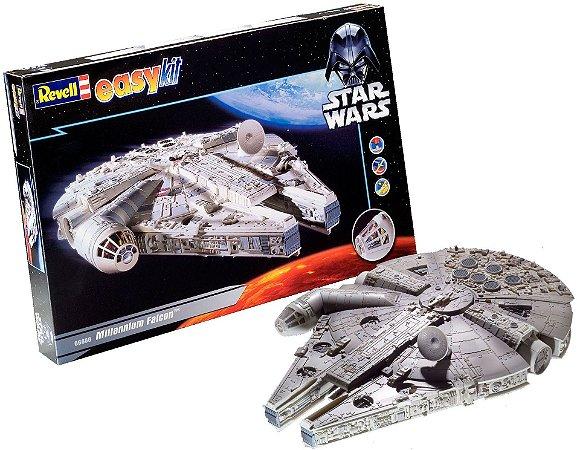 Novo Kit Facil Nave Star Wars Millenium Falcon Revell 06658