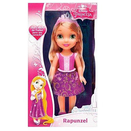 Boneca Disney Rapunzel Princesa Real Mimo 6364