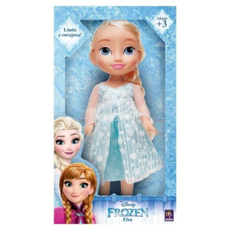 Boneca Disney Frozen Elsa  Princesa Real Mimo 6370