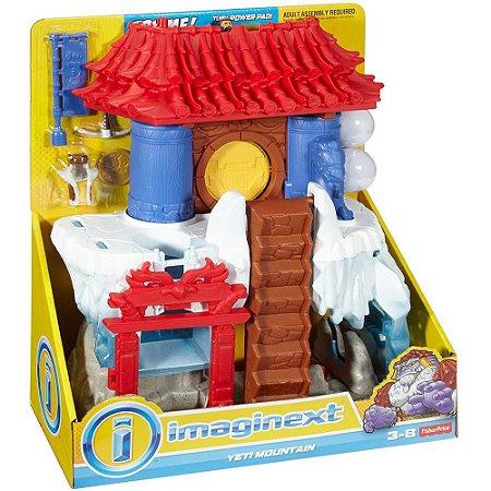Imaginext Templo Montanha Do Yeti Mattel FFR76