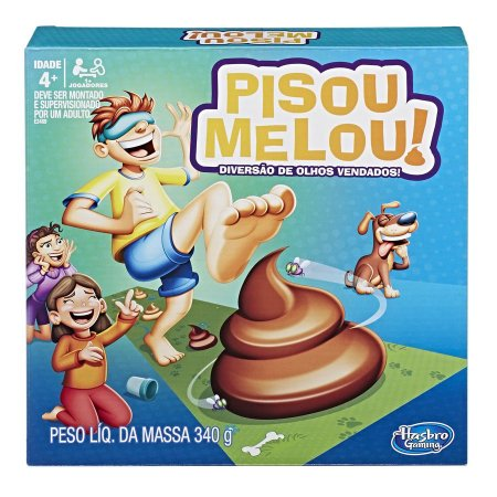Jogo De Tabuleiro Pisou Melou Original Hasbro E2489