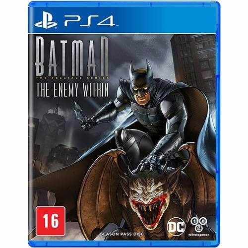 Jogo Mídia Física Batman The Enemy Within Para Ps4