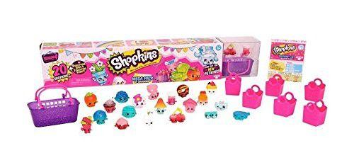 Shopkins Mega Blister Com 20 Shopkins Dtc Miniaturas Series