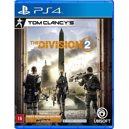 Jogo Novo Midia Fisica Tom Clancys The Division 2 para Ps4