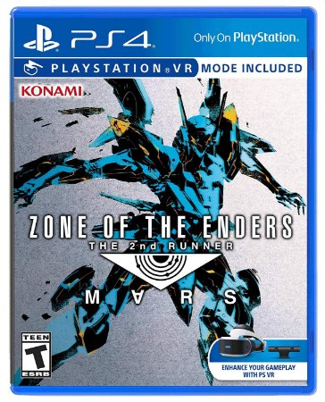 Jogo Mídia Física Zone Of The Enders The 2nd Runner Mars Ps4