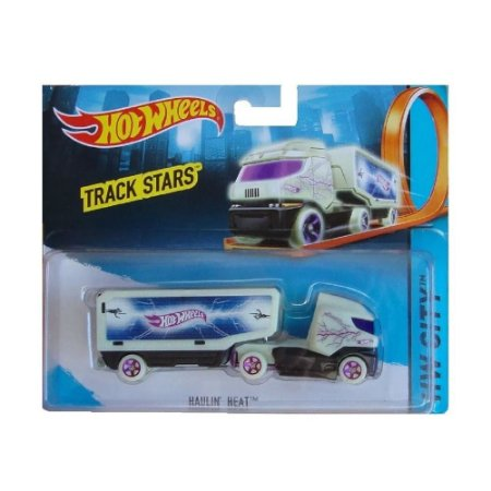 Carrinho Hot Wheels Track Stars Haulin Heat Mattel BFM60