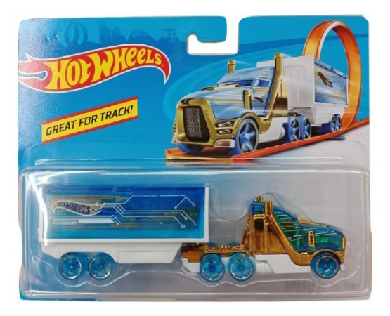 Carrinho Hot Wheels Track Stars Speed Hauler Mattel BFM71