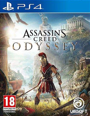 Jogo Mídia Física Assassins Creed Odyssey Original Para Ps4