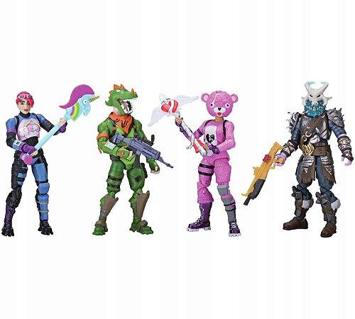 Fortnite Squad Mode com 4 Figuras e Acessórios Sunny 2059