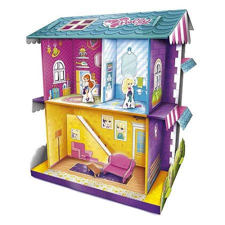 Brinquedo A Casa De Boneca Da Polly Original Copag