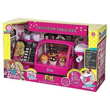 Brinquedo Nova Cafeteria Fabulosa Barbie da Fun 8169-9