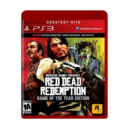Jogo Red Dead Redemption Game Of The Year Edition Para Ps3