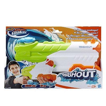 Novo Lançador de Agua Nerf Super Soaker Washout Hasbro A9465