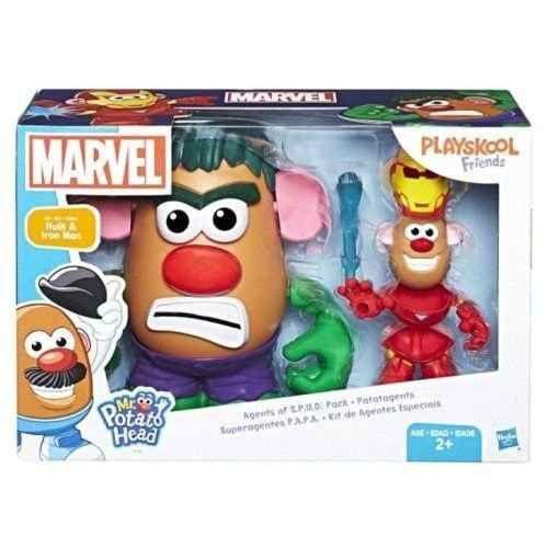 Boneco Mr Potato Marvel Kit de Agentes Especiais E1750