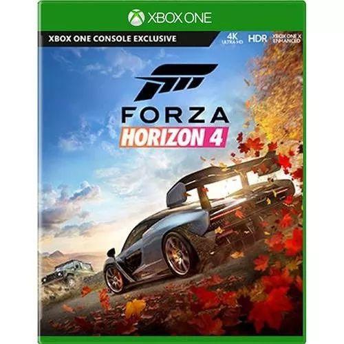 Jogo Mídia Física Forza Horizont 4 Para Xbox One