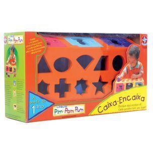 Brinquedo Caixa Encaixa Da Estrela Novo Lacrado
