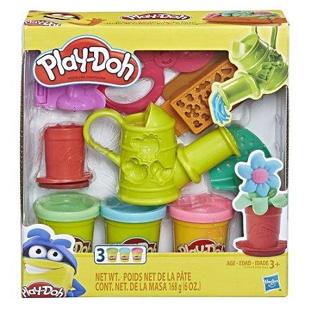 Massinha Play-Doh Conjunto de Jardinagem Hasbro E3564